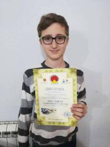 Andrej Simendić najbolji u Srbiji  u oblasti ekologije