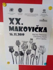 16.11.2019 – 20. MAKOVIČKA