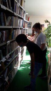 Deň v mestkej knižnici